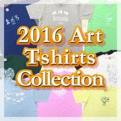 画像1: 2016 Art T-shirts Collection (6.2オンス)
