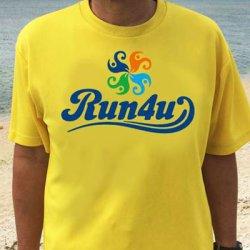 画像1: Run4u オリジナルTシャツ≪ランナー用 ドライ≫